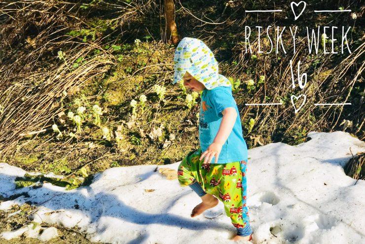 Risky Week 16 – Merlin bei Sommertemperaturen im Schnee