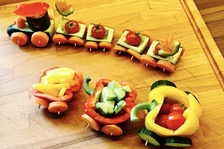 Beikost als Zug aus Gemüse