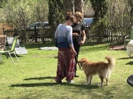 Hundehotel – Dagmar Meinert übt mit Whiskey und Tanja