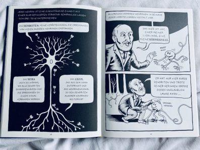 Das_Gehirn_Doppelseite-über-Neuronenaufbau