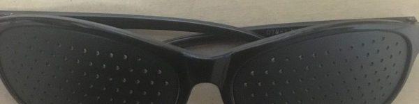 100均で買ったピンホールメガネを3ヶ月使った感想!視力は良くなった?