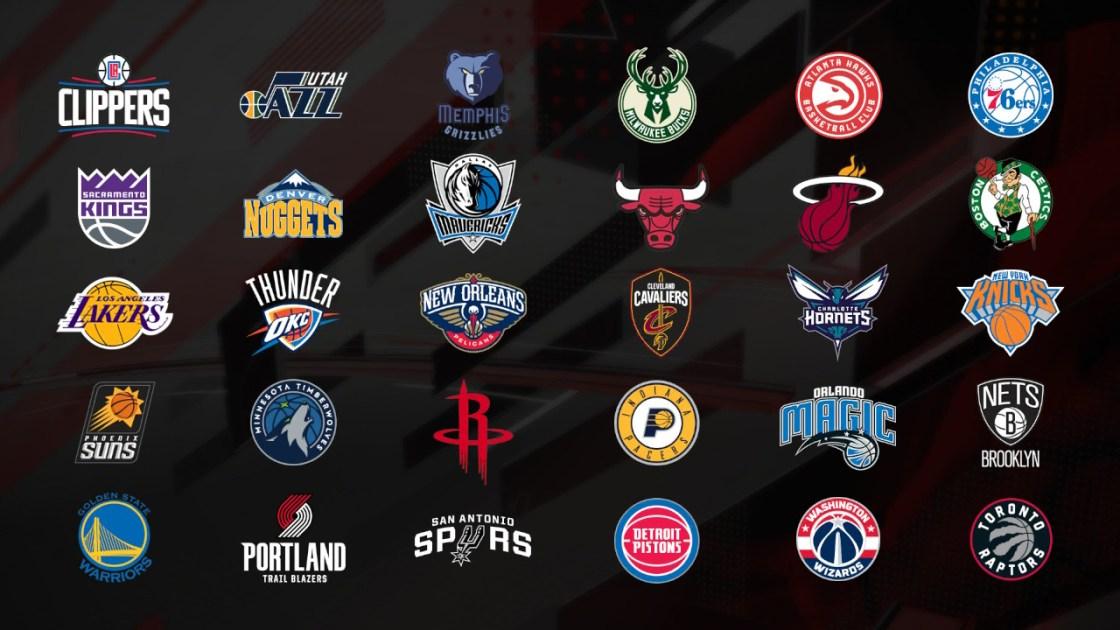 NBA2k18のチーム画像