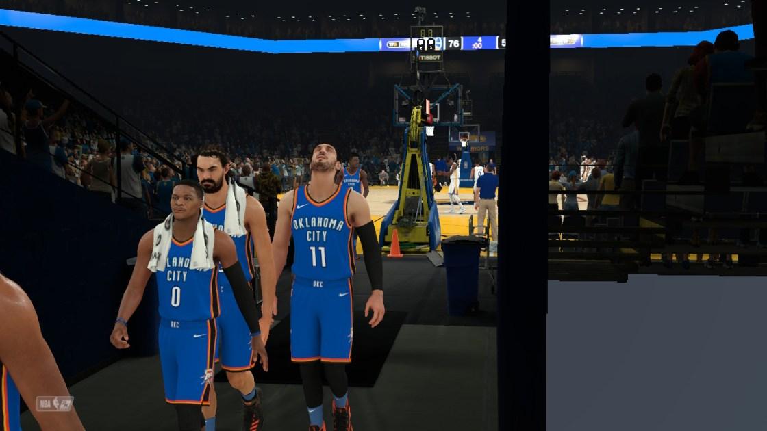NBA2k18プレイビジョンの画像