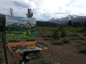 Hope Valley plein air