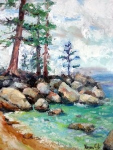 Cove painting