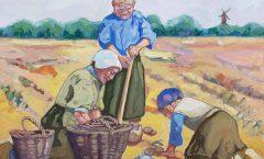 Potato Farming Family