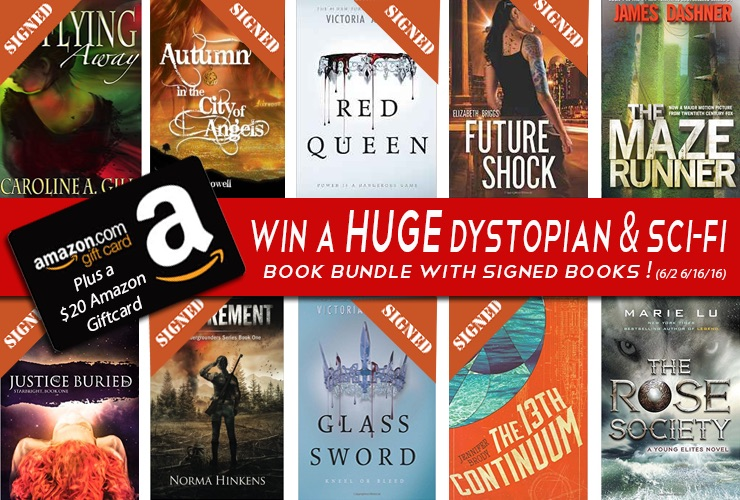 Huge Summer 2016 Dystopian and Sci-fi YA Fiction Giveaway