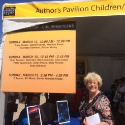 Tucson Festival of Books, March 13, 2016, at Univ. of AZ, Tucson, AZ