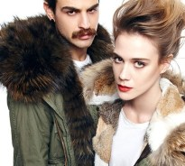 mr & mrs furs parka