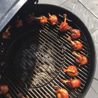 BBQ tapas: De Chicken lollipops