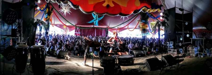 Glasto Latino Stage at Glastonbury Festival 2016