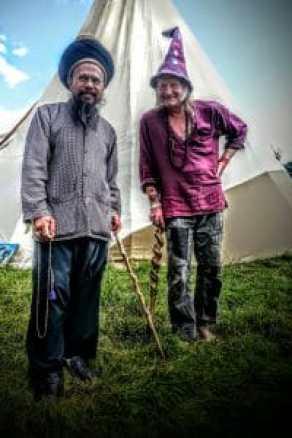 Sufi and Wizard Glastonbury Festival 2014