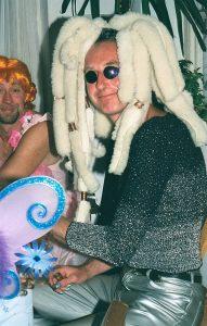 Glastonbury GIGL Alien Party Adrian