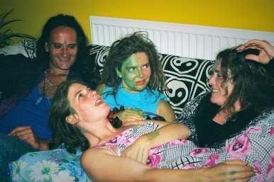 Glastonbury GIGL Alien Party Group 2