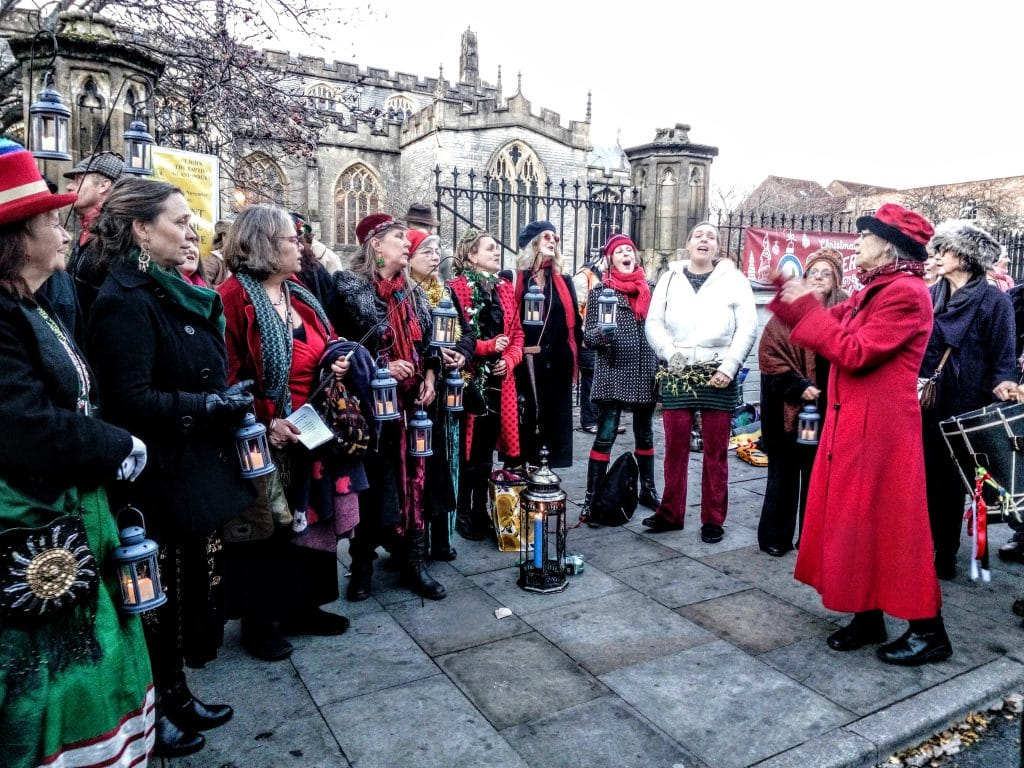 Glastonbury Frost Fayre 2016 – Pictures & A Video
