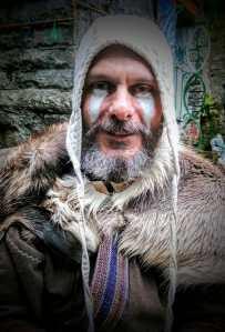 Viking Tim at the May Day Beltane Celebration, White Spring