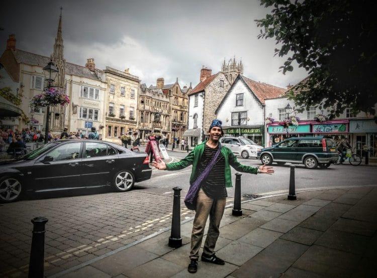 Rumpel in Glastonbury Town