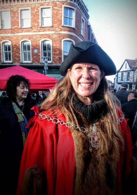 Our lovely Mayor Emma George