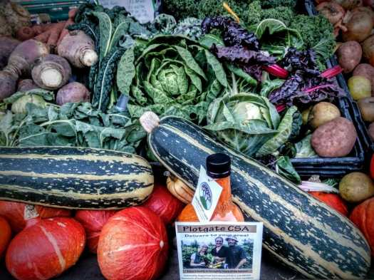Local veg from Plotgate