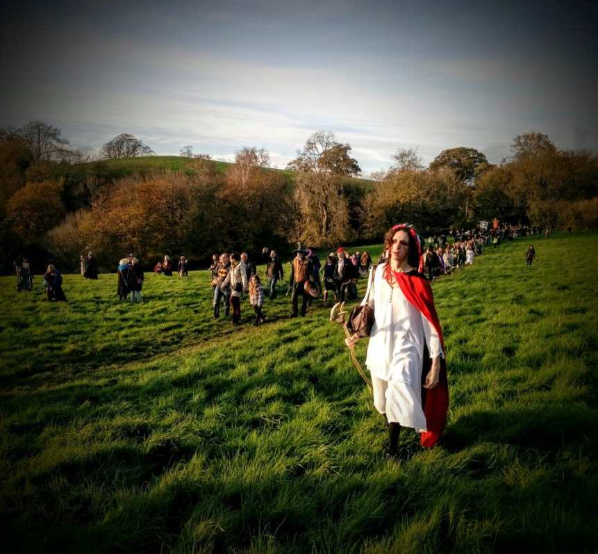 Samhain 2017 Glastonbury. Photo copyright Vicki Steward
