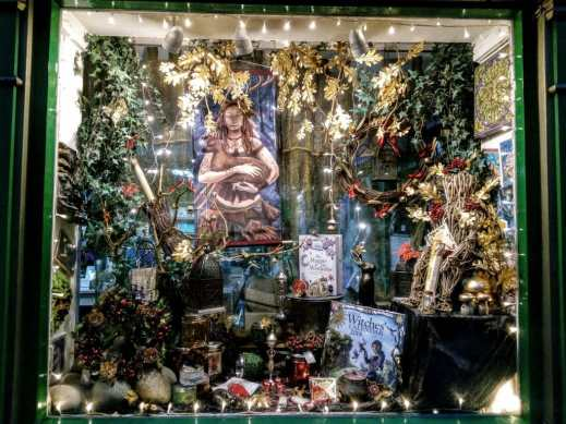 Goddess and Green Man always have a great display