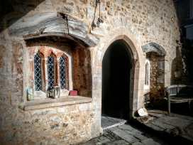St Margaret's Chapel & Almshouses Glastonbury by Vicki Steward