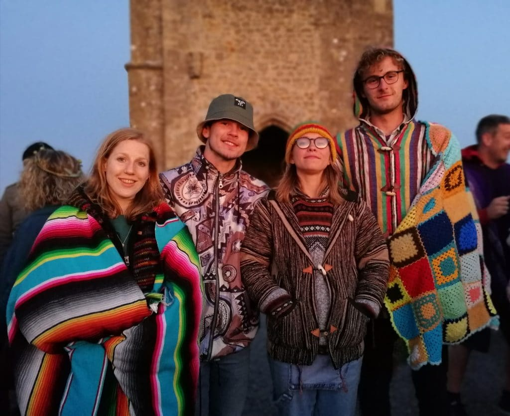 Summer Solstice on Glastonbury Tor 2018