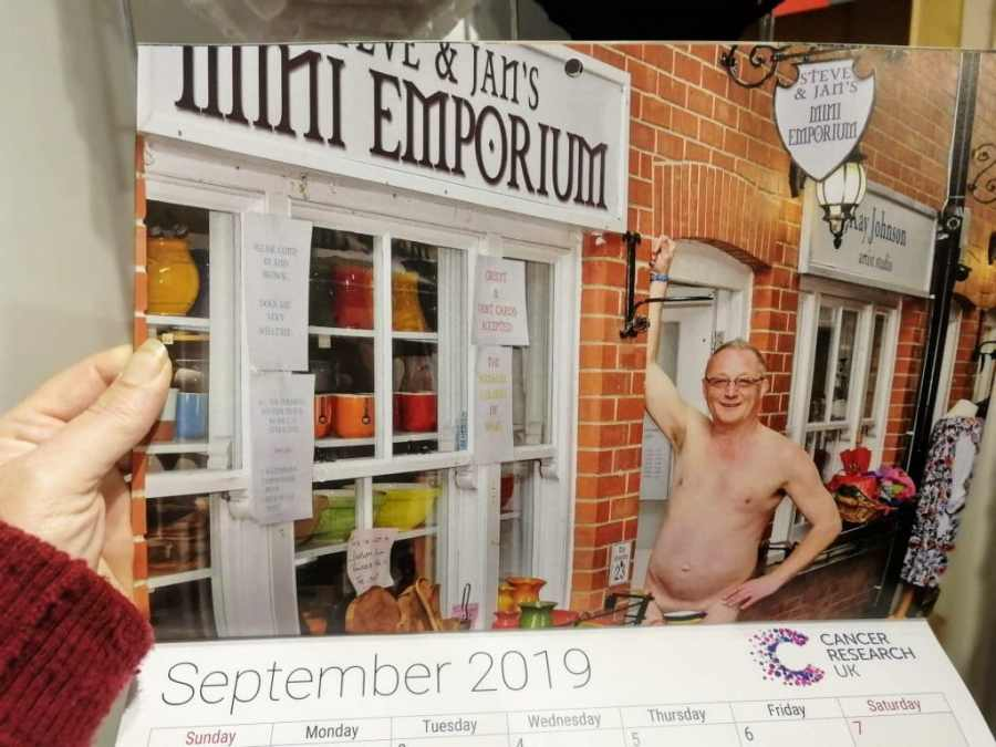 Glastonbury Cancer Research Shop 2019 Calendar