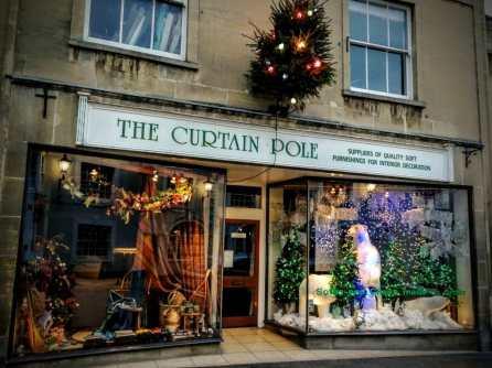 The Curtain Pole Christmas Glastonbury 2018
