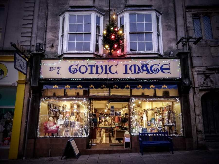 Gothic Image Christmas Glastonbury 2018