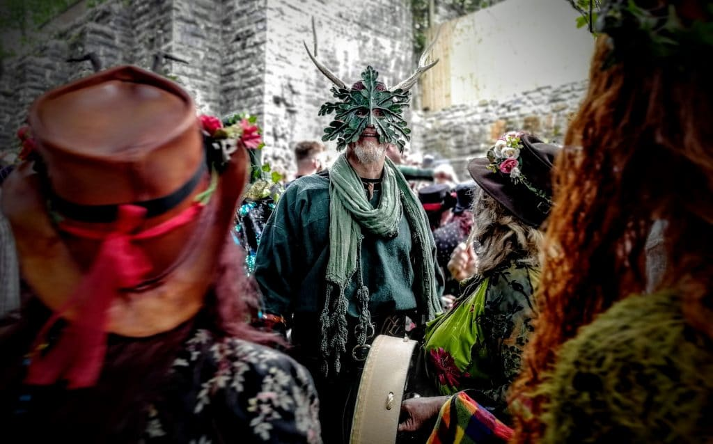 May Day in Glastonbury 2019