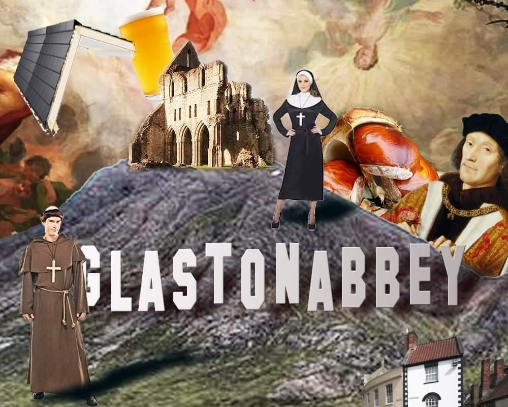 Glastonbury Abbey by Andy Brady