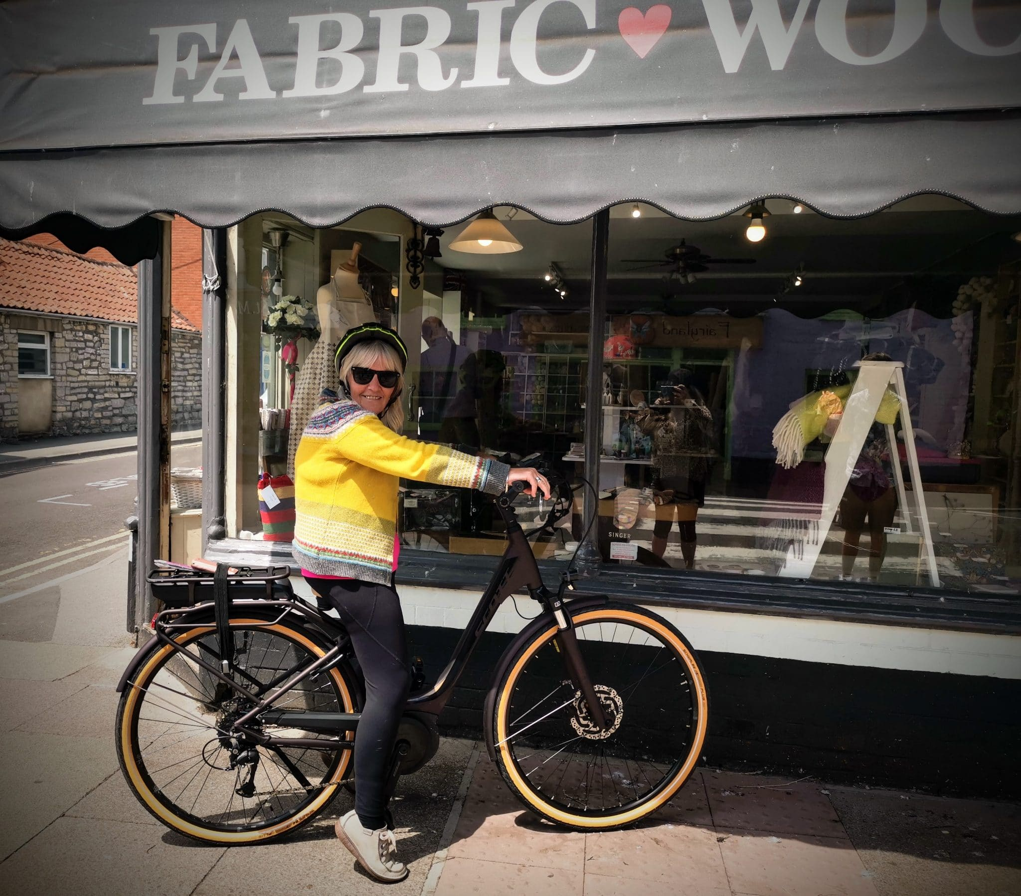 Electric Bike Glastonbury