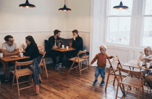 Kids in Benedict Street Kitchen. Copyright Benedict Street Kitchen's own.