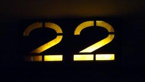 twenty-two