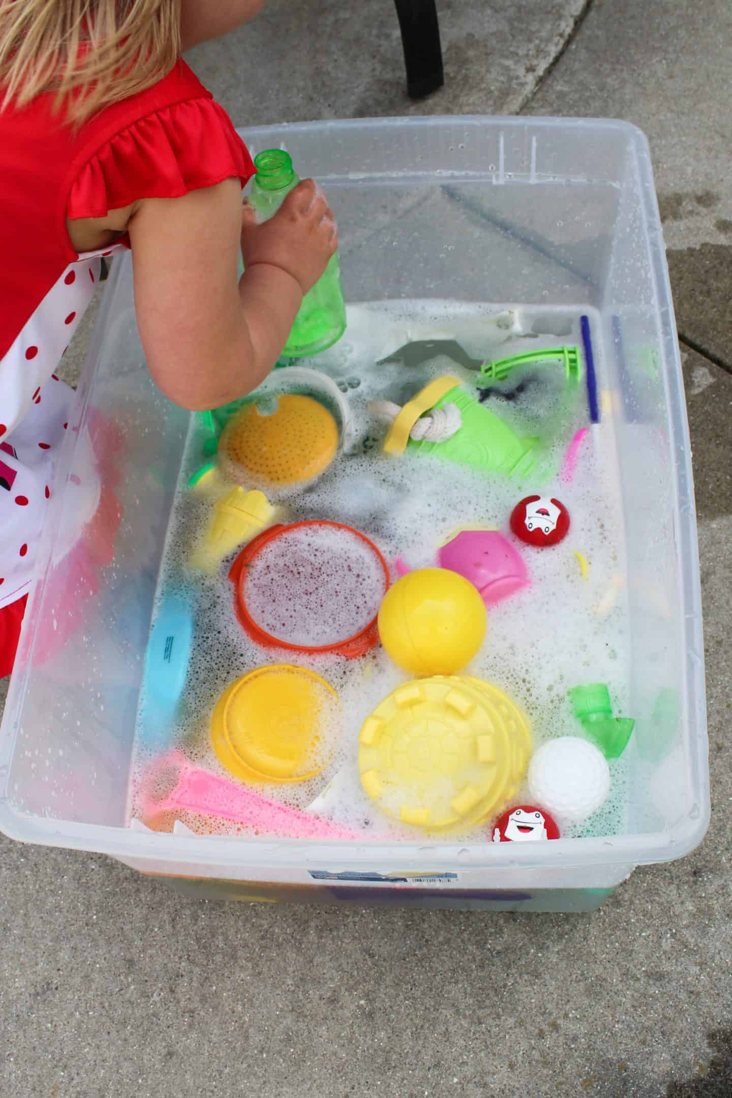 Preschool Water Activities