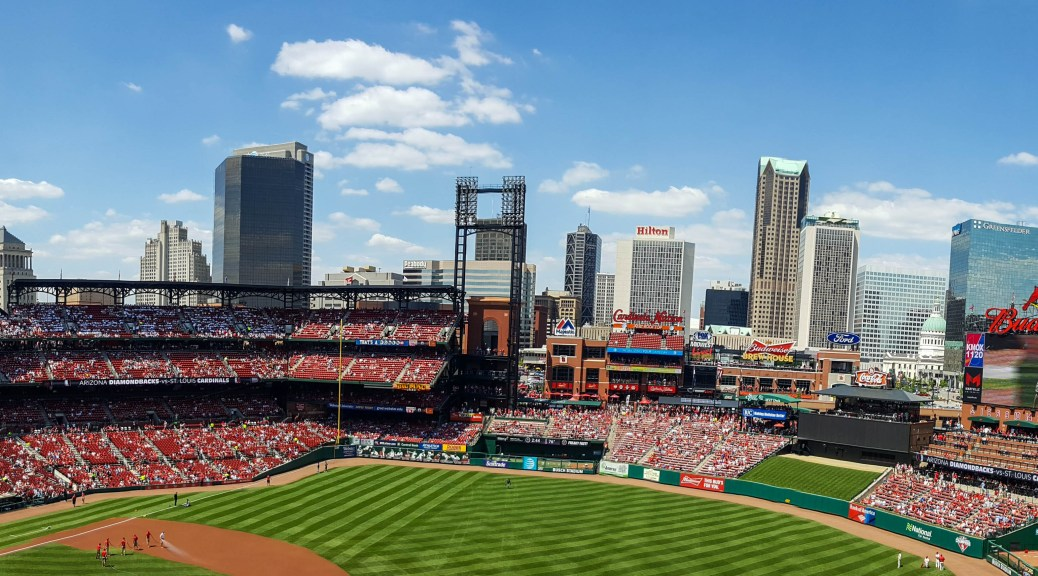 Panoramic at Busch Stadium