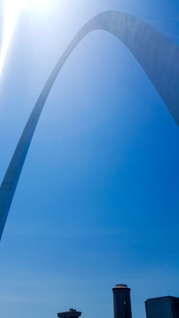 Gateway Arch from below