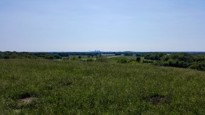 St. Louis skyline from top of Monk's Mound