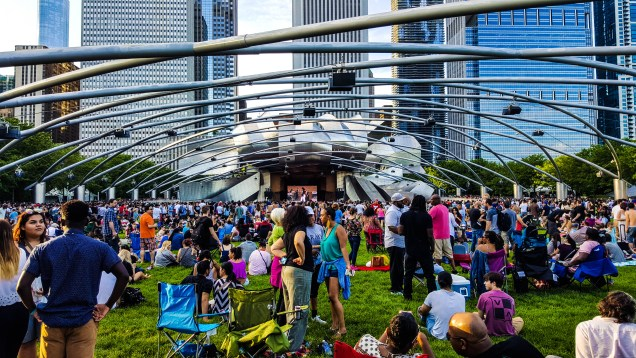 Free summer concerts at Millennium Park