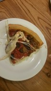 Unappetizing picture at Giordano's