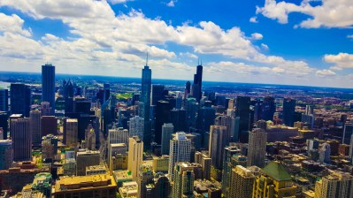 Chicago from the Hancock Building