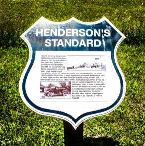 Henderson's Standard Gas Station