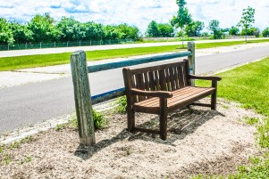 Donated benches