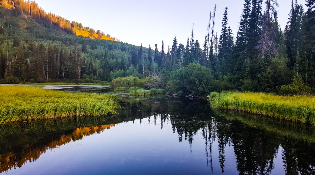 Silver Lake, Uinta-Wasatch-Cache National Forest, Utah