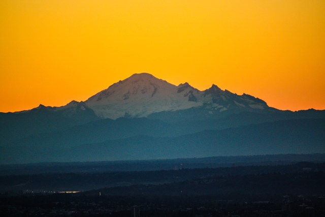 Mount Baker Sunrise