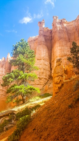 Hoodoos and eroded rock formations