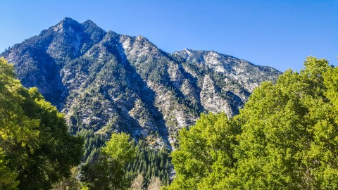 A parting view of the Wasatch