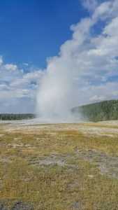 Eruption of Old Faithful