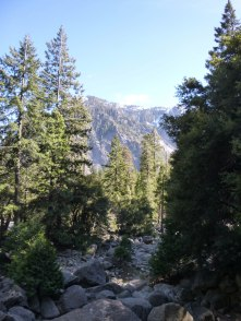 Across from Lower Yosemite Falls